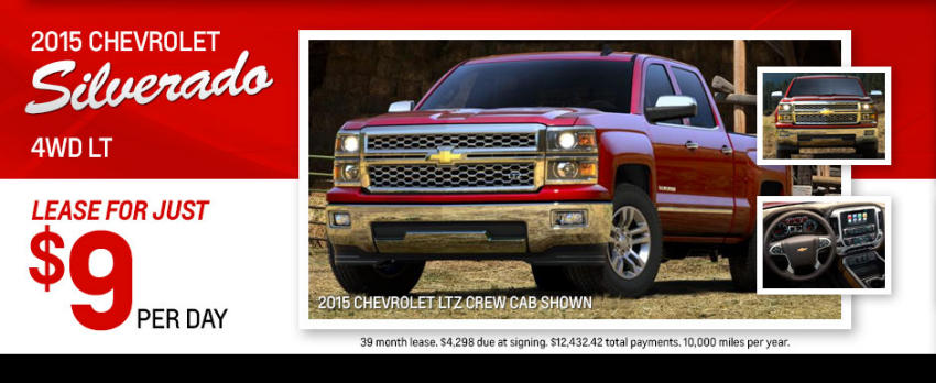 Chevy Silverado lease