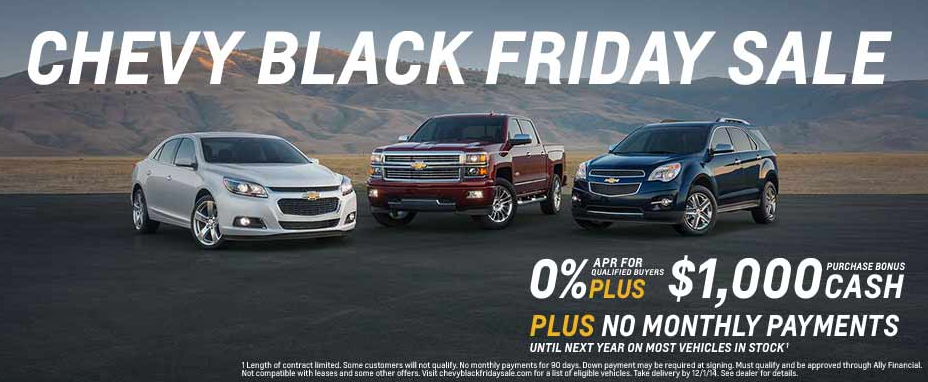 Chevy Black Friday