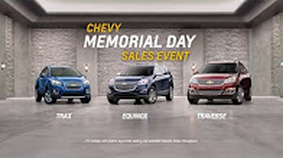 Chevy Memorial Day Sale